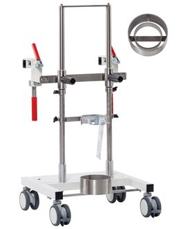 OxyDoc Light Flaschenwagen zum Andocken an Betten - mth medical