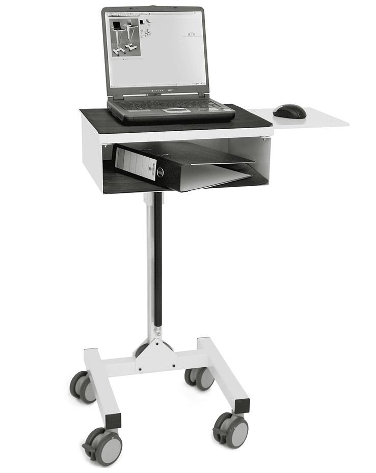 mobicart soft laptopwagen patientendatenmanagement mth. Black Bedroom Furniture Sets. Home Design Ideas